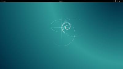 Debian 8 screen shot