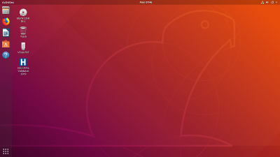 Ubuntu 18.04 screen shot