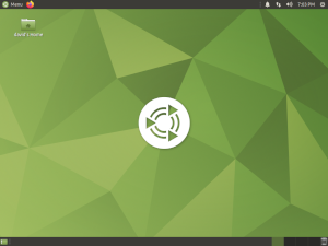 Ubuntu MATE 20.10 screen shot